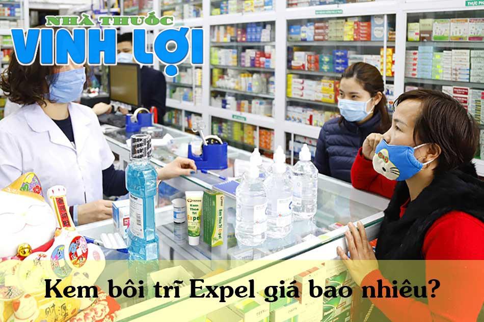 Kem bôi trĩ Expel giá bao nhiêu?