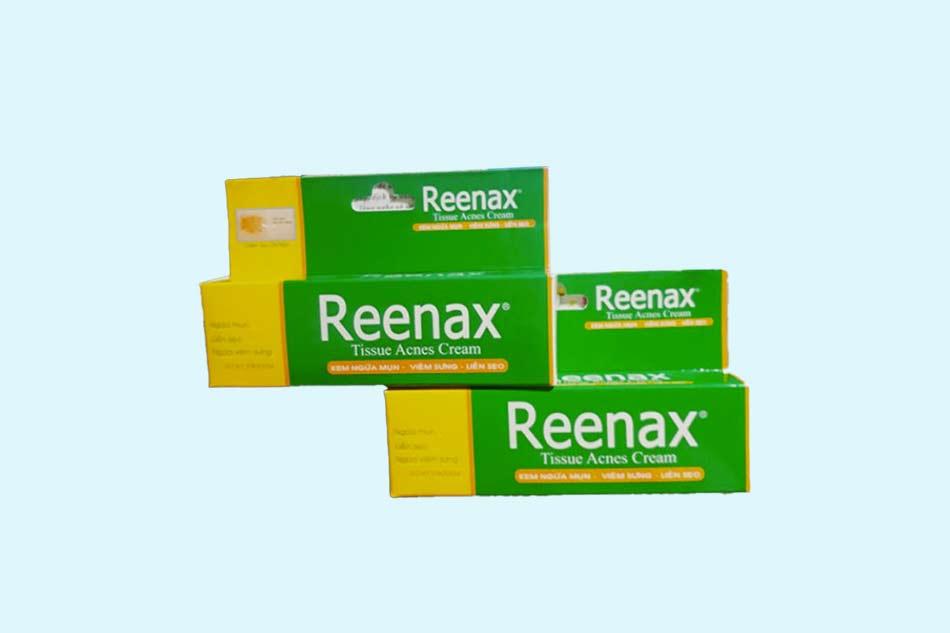 Đối tượng sử dụng kem Reenax