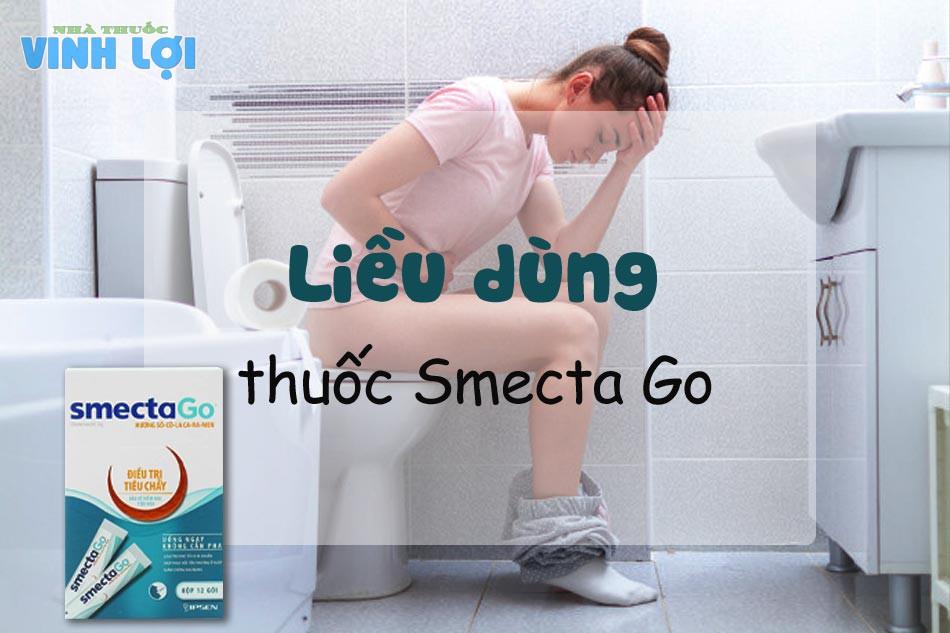 Liều dùng thuốc tiêu chảy Smecta Go
