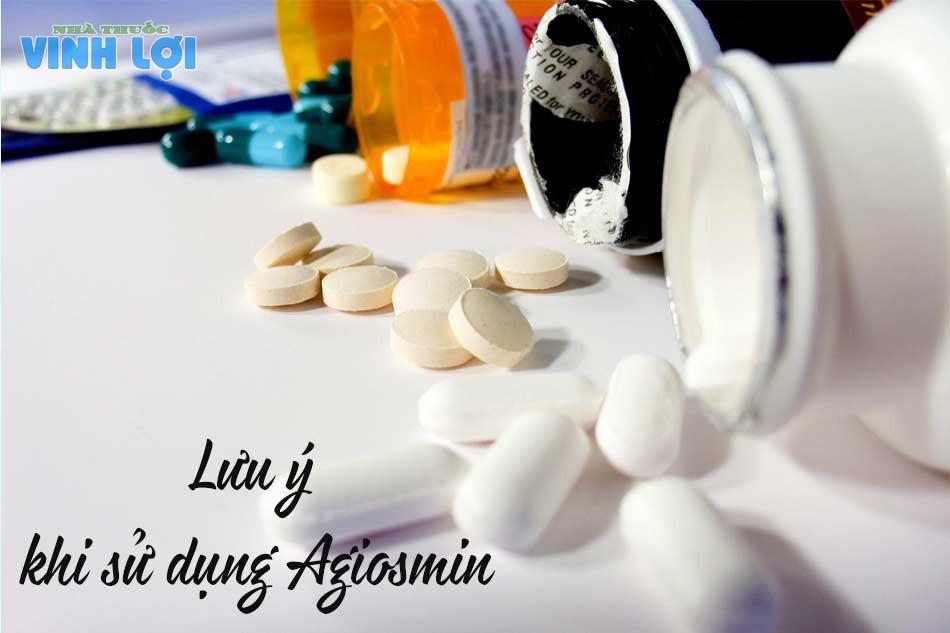 Lưu ý khi sử dụng Agiosmin