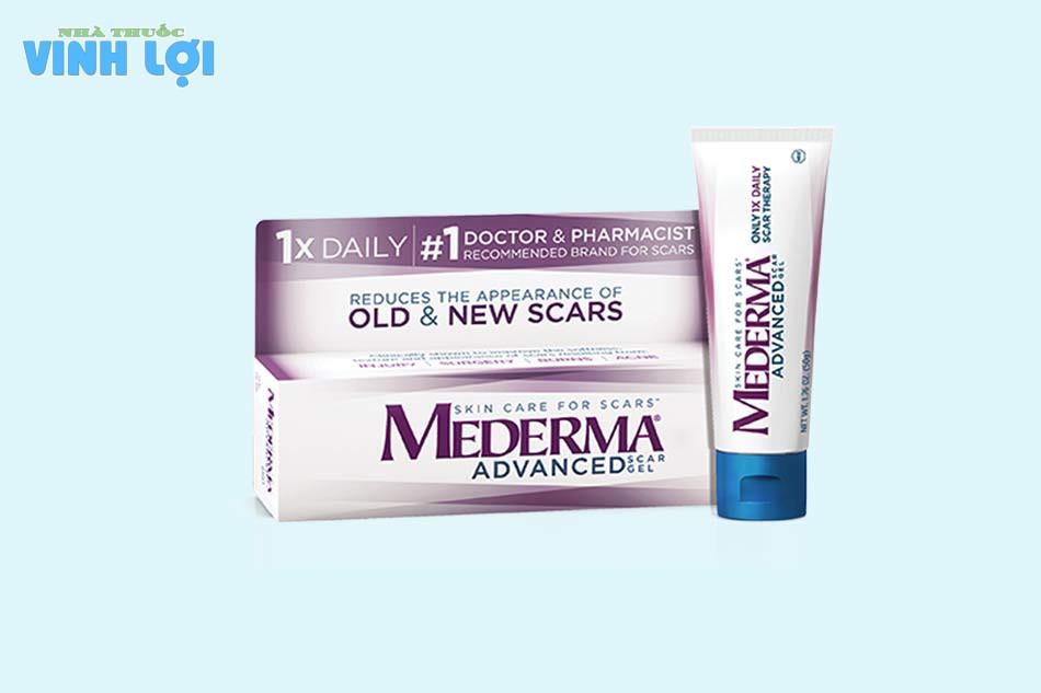 Đối tượng sử dụng Mederma Advanced Scar Gel