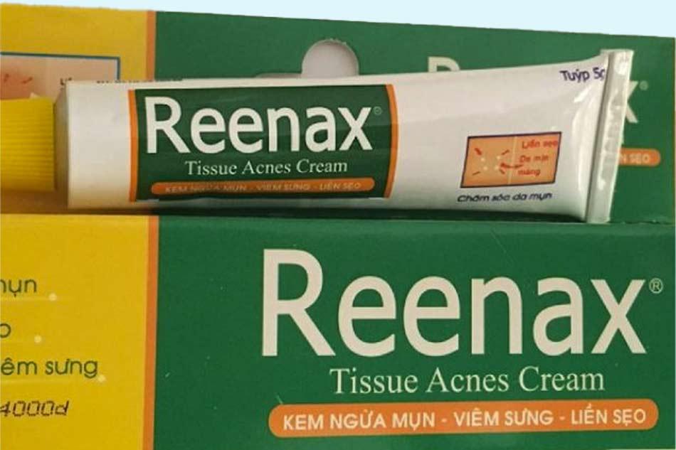 Tác dụng của kem trị mụn Reenax
