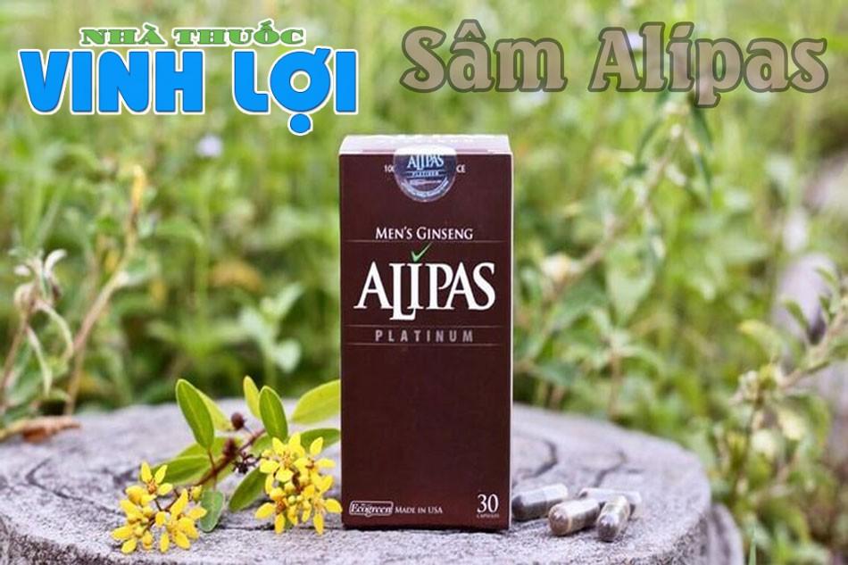 Thuốc tăng sinh lý nam Sâm Alipas