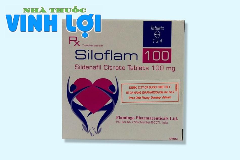 Thuốc cường dương Ấn Độ mạnh nhất Siloflam 50mg