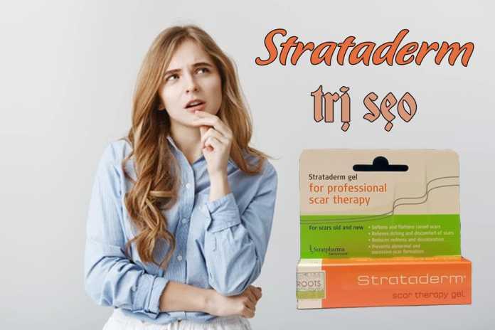 Kem Strataderm đến từ Thụy Sĩ trị sẹo mặt hiệu quả