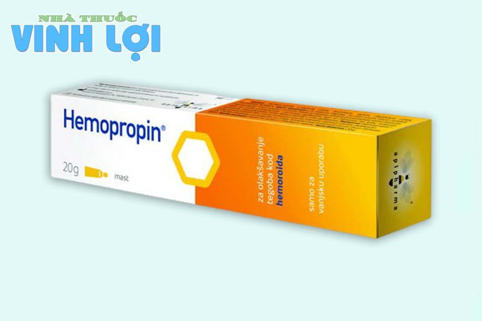 Tác dụng của thuốc bôi Hemopropin