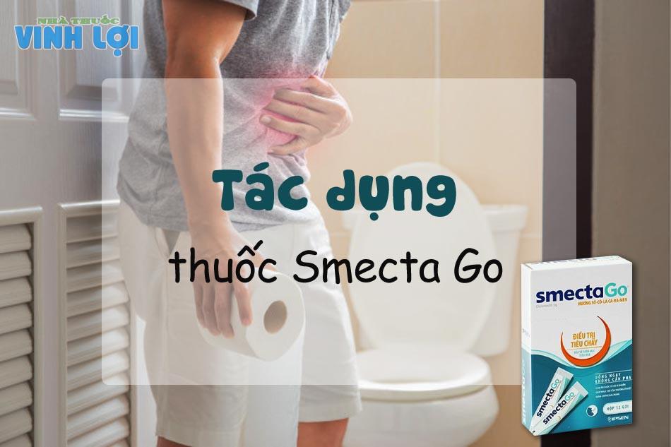 Tác dụng của Smecta Go