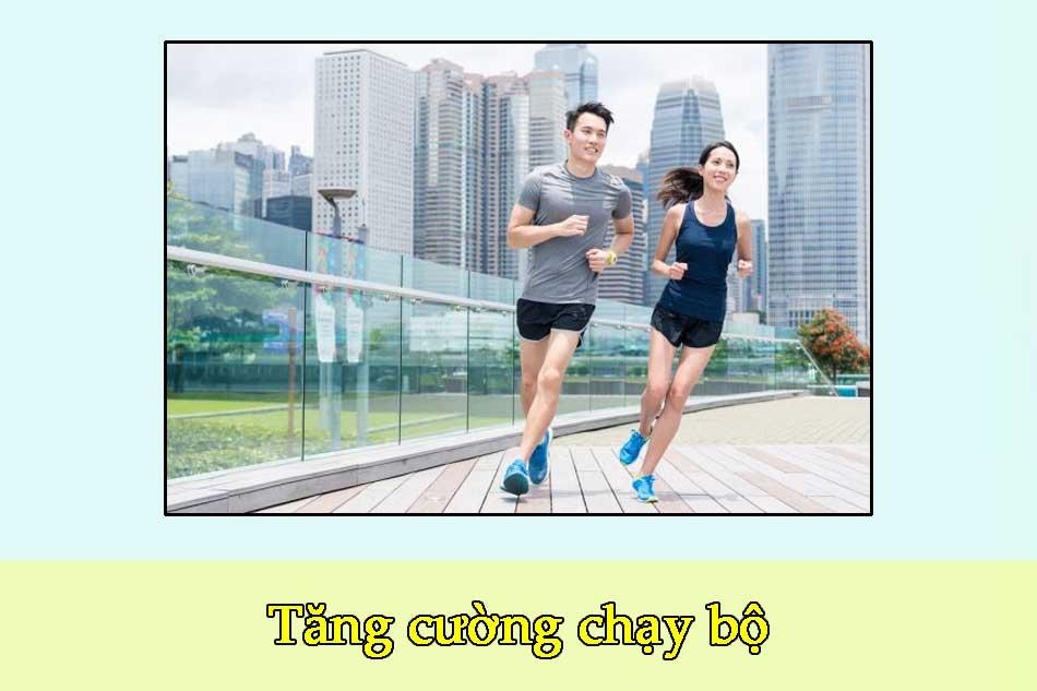 Tăng cường chạy bộ