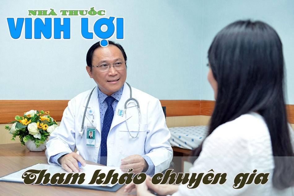 Tham khảo ý kiến và sự hướng dẫn của các cán bộ y tế trước khi sử dụng