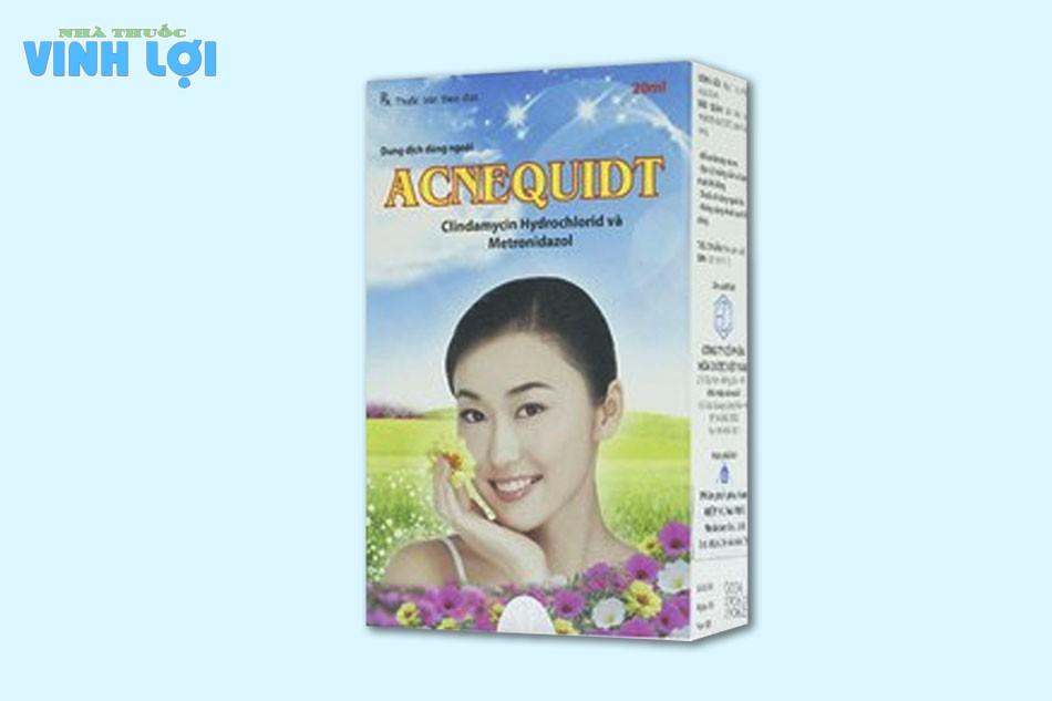Acnequidt là thuốc gì?