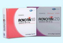 Thuốc trị mụn Acnotin 10mg, 20mg