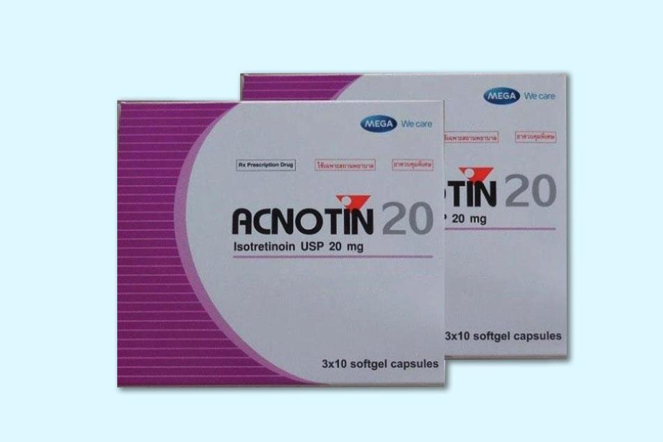 Acnotin là thuốc gì?