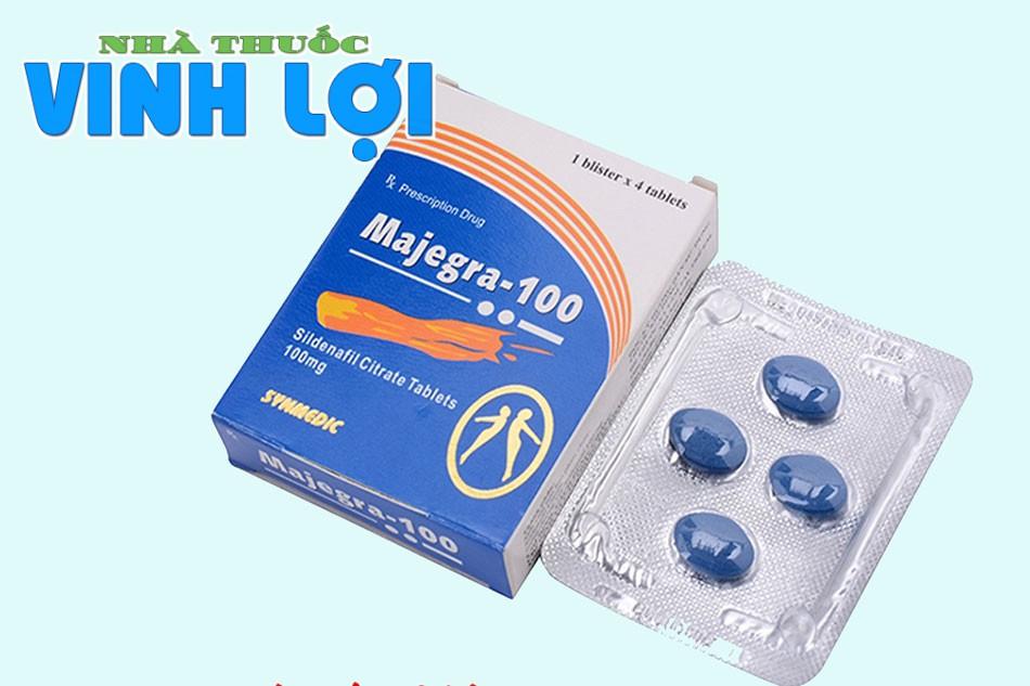 Thuốc tăng sinh lý nam Ấn Độ Majegra 100mg