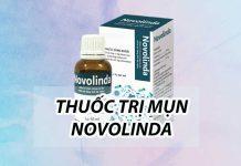 Thuốc trị mụn Novolinda