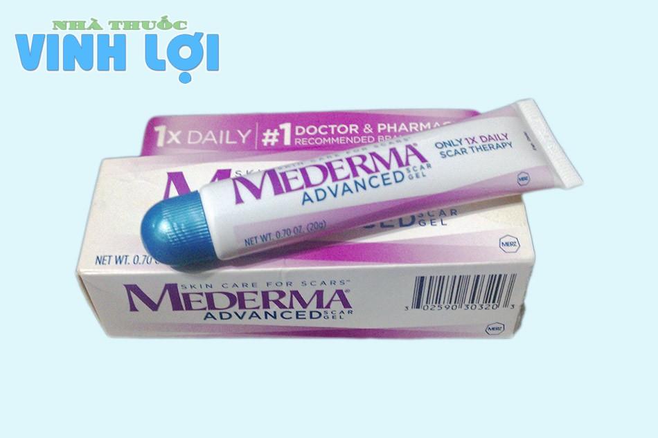 Thuốc trị sẹo rỗ Mederma