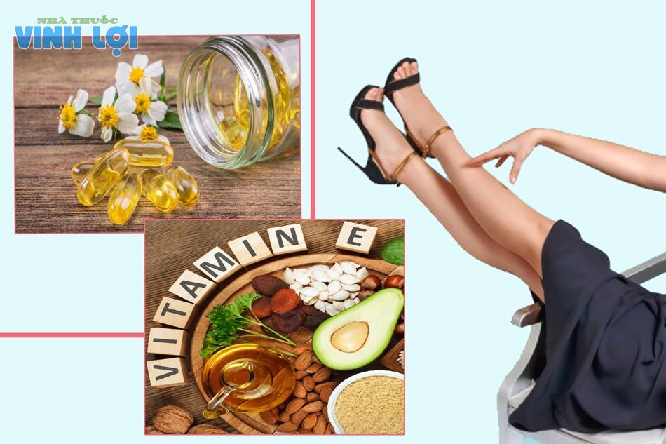 Cách làm mờ vết thâm ở chân bằng Vitamin E