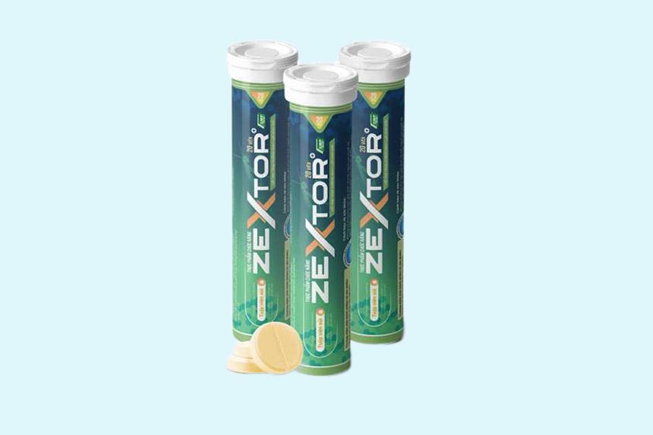 Tác dụng của Zextor