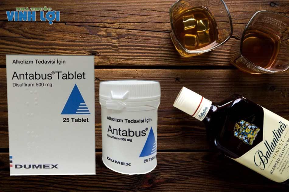 Thuốc cai nghiện rượu Antabuse