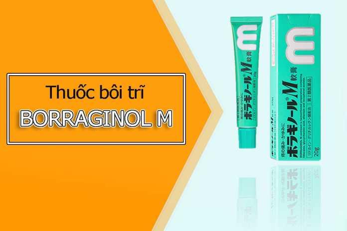 Thuốc bôi trĩ Borraginol M