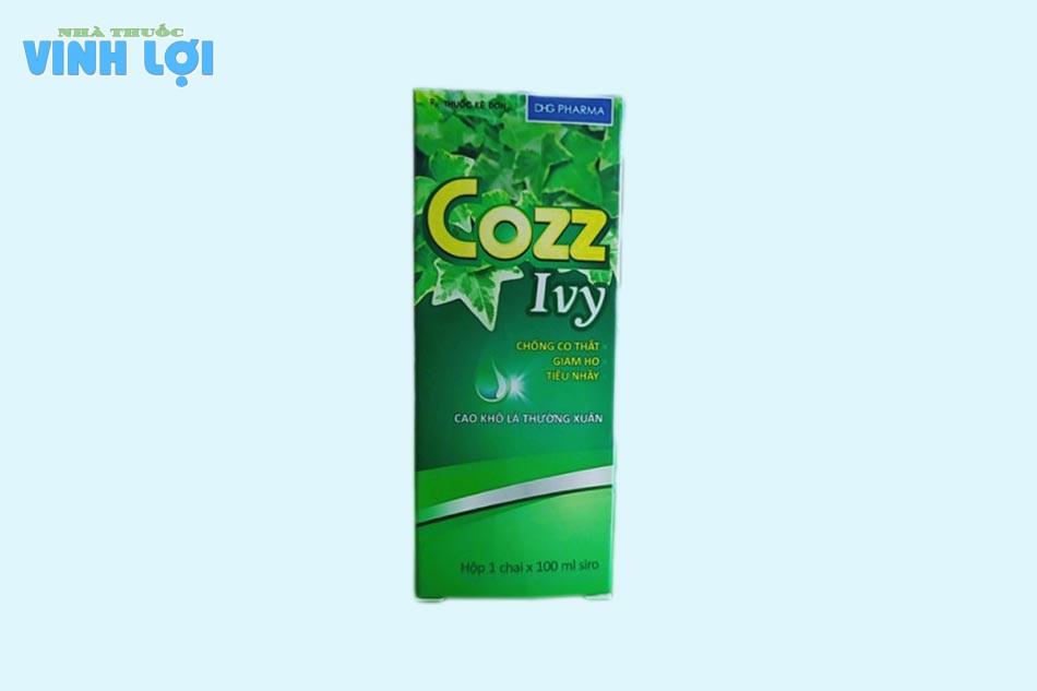 Cách dùng siro ho Cozz Ivy