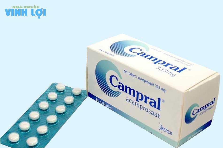 Thuốc chữa nghiện rượu Campral