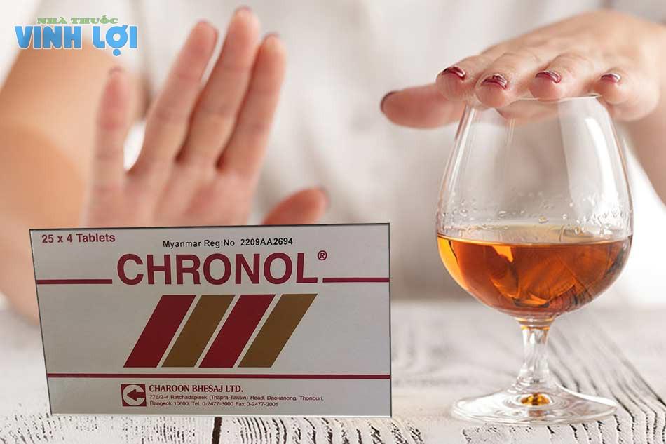 Thuốc chữa nghiện rượu bia Chronol