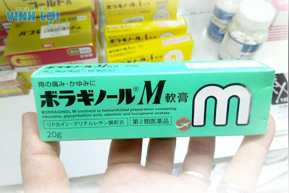 Kem bôi trĩ Borraginol M chính hãng mua ở đâu tại Hà Nội, TpHCM?
