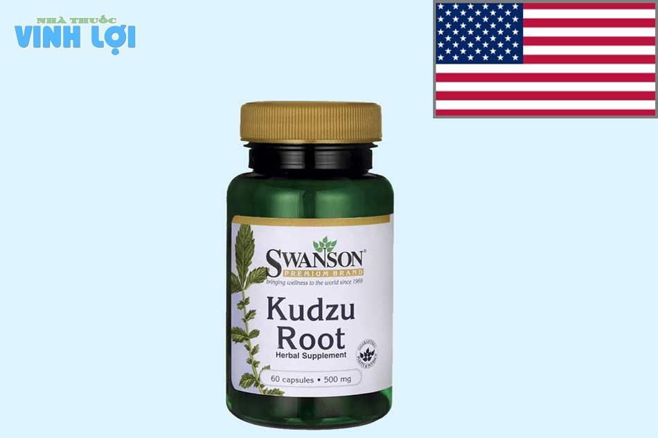 Thuốc cai rượu của Mỹ Kudzu Root