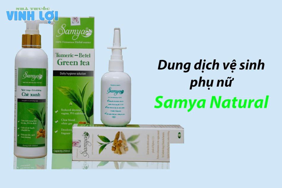 Dung dịch vệ sinh phụ nữ Samya Natural