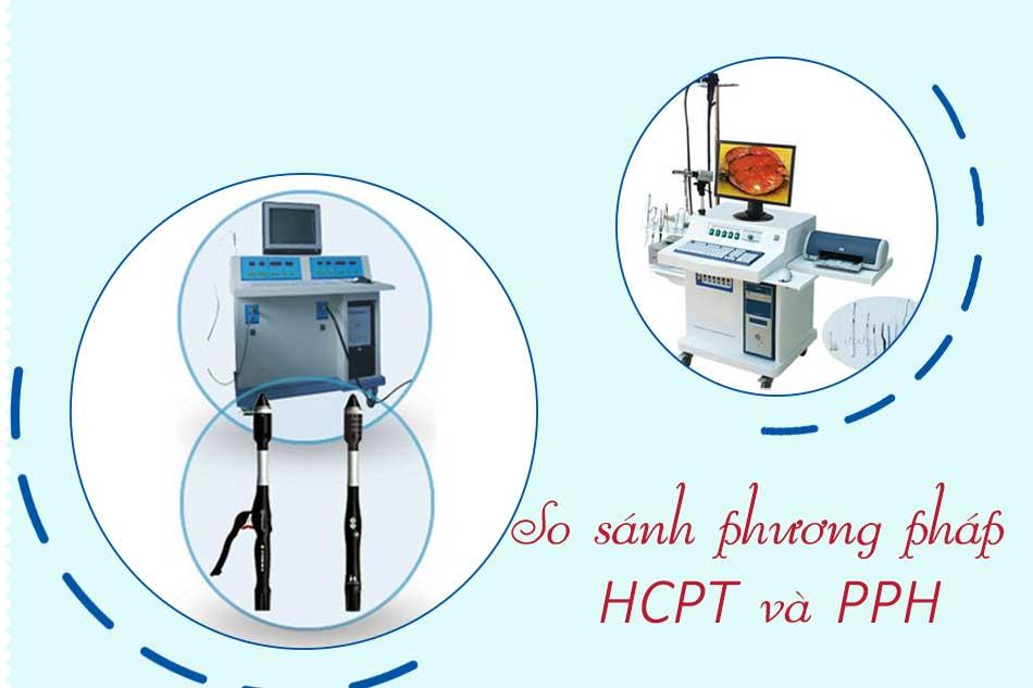 So sánh hiệu quả cắt trĩ bằng phương pháp HCPT và PPH