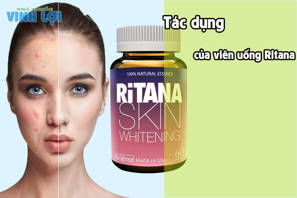 Tác dụng của viên uống Ritana