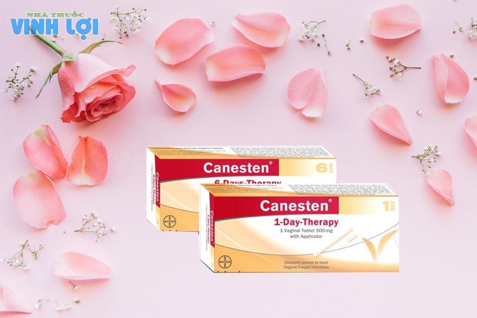 Thuốc đặt âm đạo cho bà bầu Canesten 500