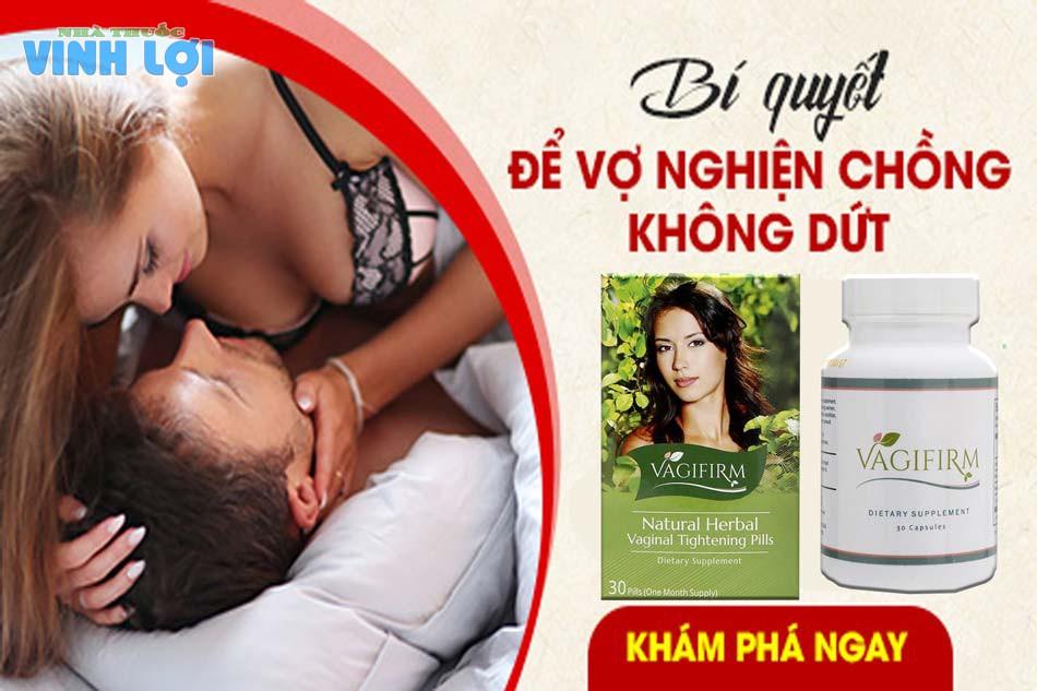 Thuốc chữa yếu sinh lý nữ - Vagifirm