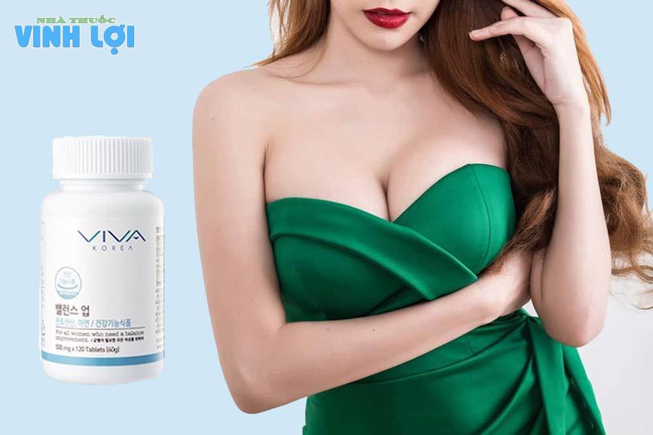 Viên Uống Nở Ngực Viva Balance Up Upgrades đến từ Hàn Quốc