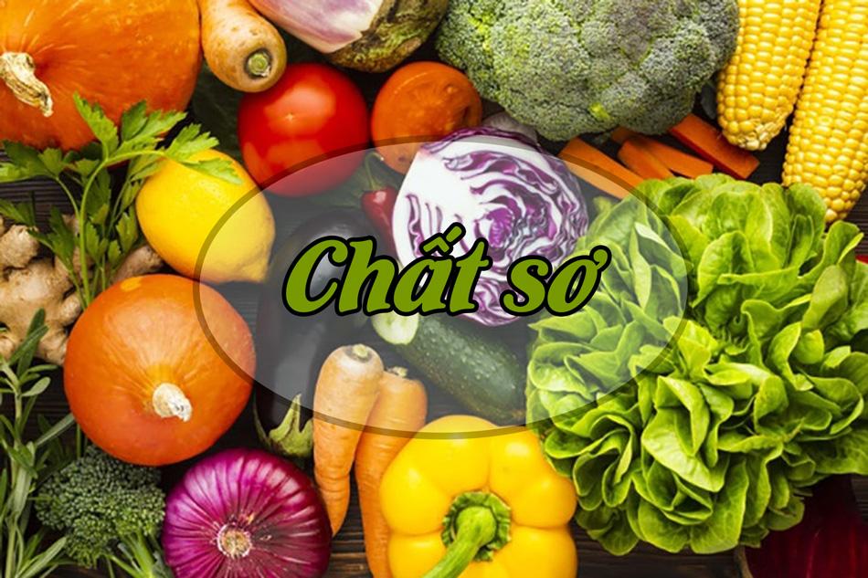 Chất xơ cũng là thành phần được khuyến khích trong bữa ăn của người giảm cân