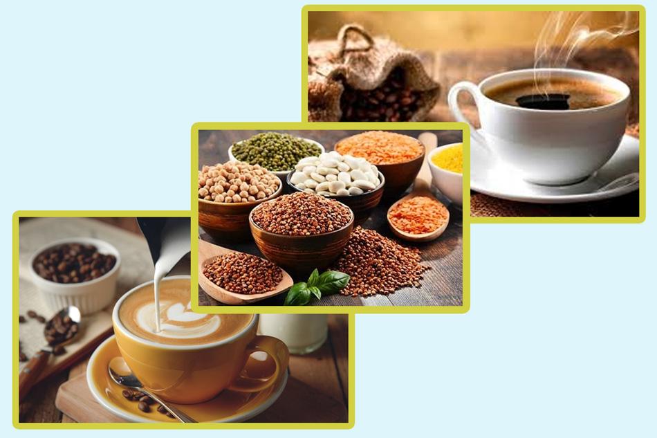Bột ngũ cốc và cà phê cũng là những giải pháp giảm cân hữu hiệu