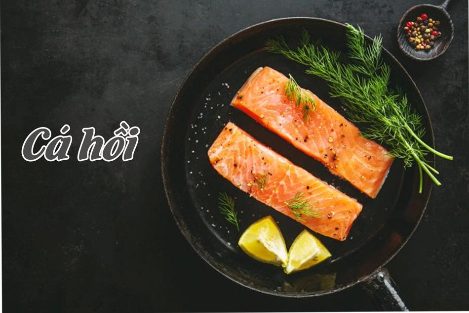 Năng lượng từ cá hồi cung cấp cho cơ thể là từ protein và chất béo lành mạnh