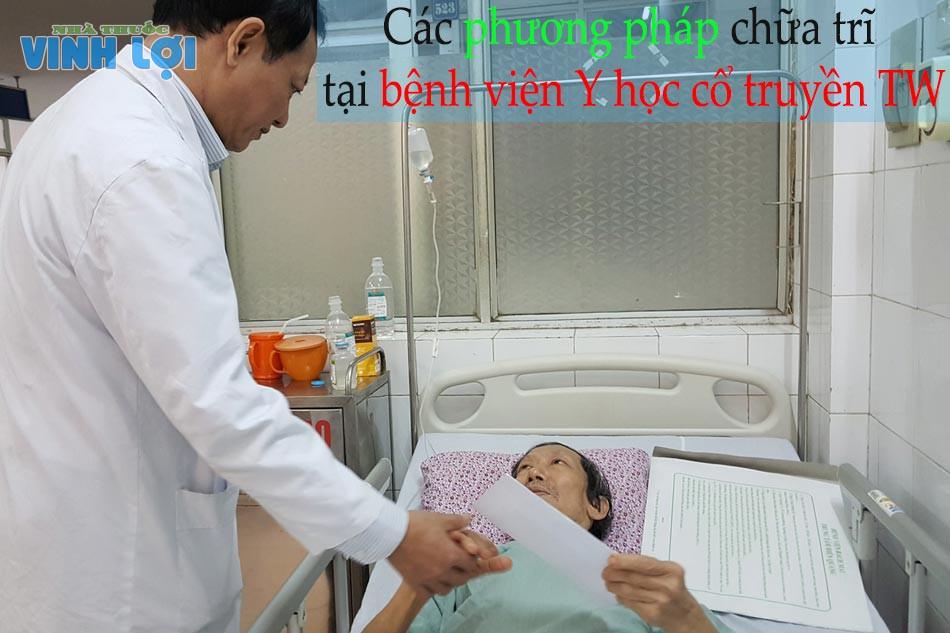 Các phương pháp chữa trĩ tại Bệnh viện Y học cổ truyền Trung ương