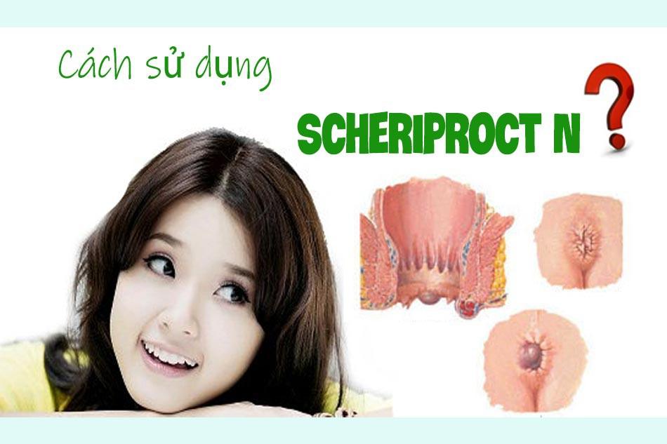 Cách sử dụng Scheriproct N