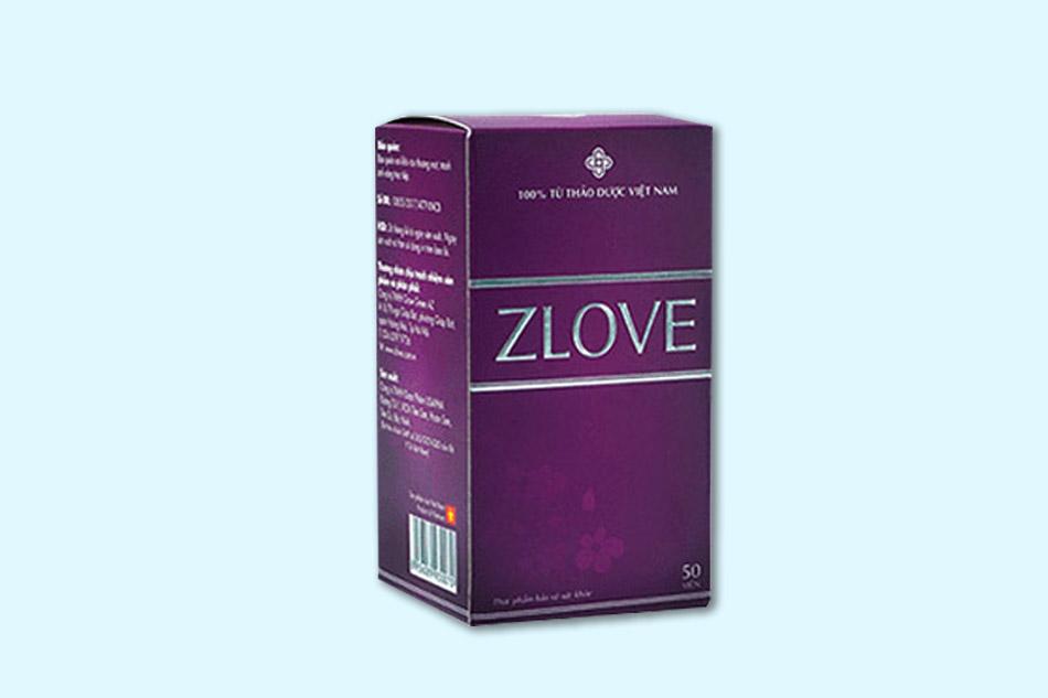 Uống Zlove có tác dụng phụ không?