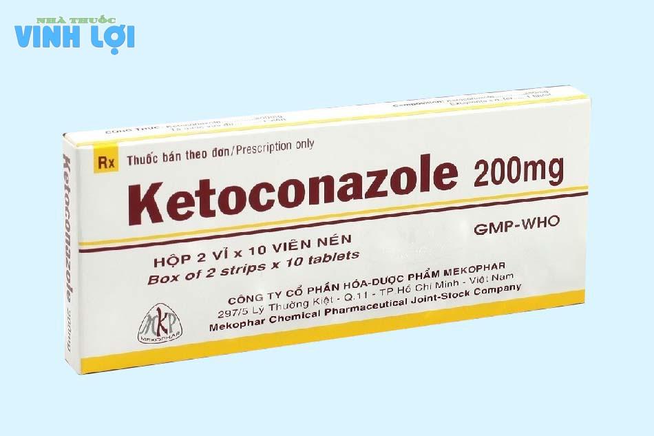 Thuốc kháng nấm điều trị ngứa vùng kín ở nam giới