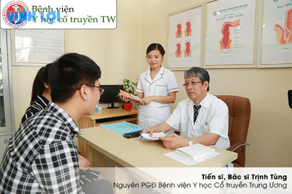 Đội ngũ bác sĩ chữa bệnh trĩ tại viện Y học cổ truyền trung ương?