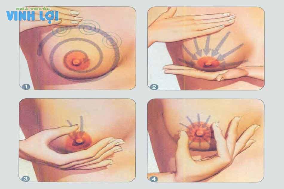 Massage ngực hiệu quả