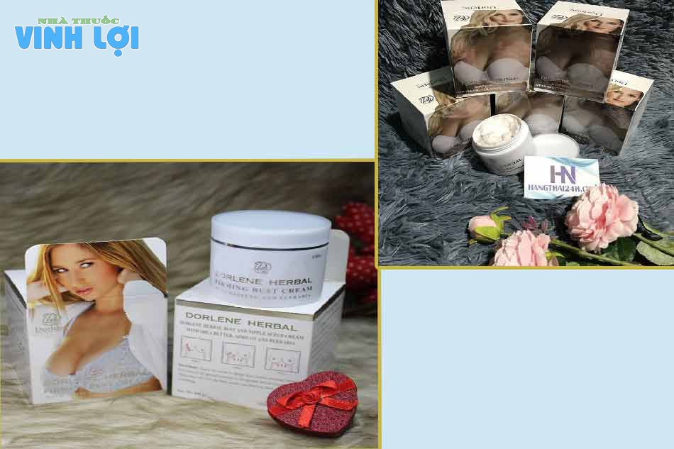 Kem nở ngực Dorlene Herbal Thái Lan