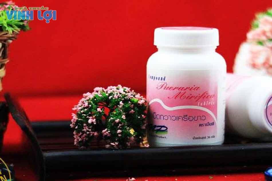 Thuốc nở ngực Thái Lan Pueraria Mirifica