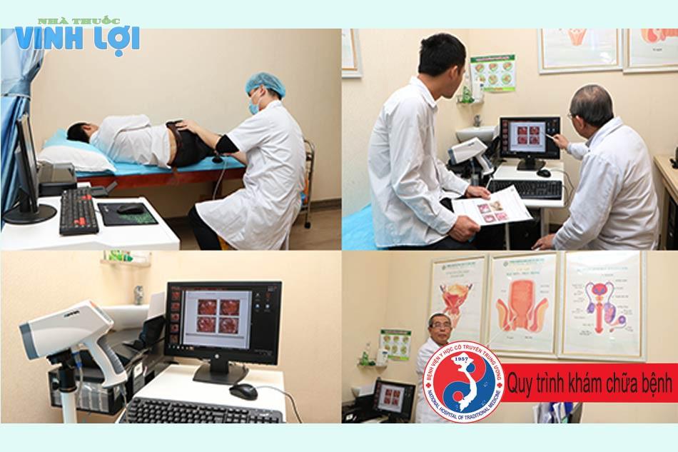 Quy trình khám chữa bệnh trĩ tại bệnh viện Y học cổ truyền trung ương