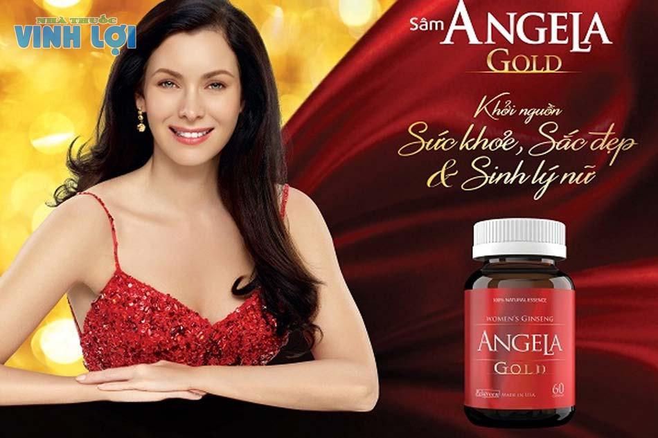 Thực phẩm chức năng tăng cường sinh lý nữ giới Sâm Angela Gold