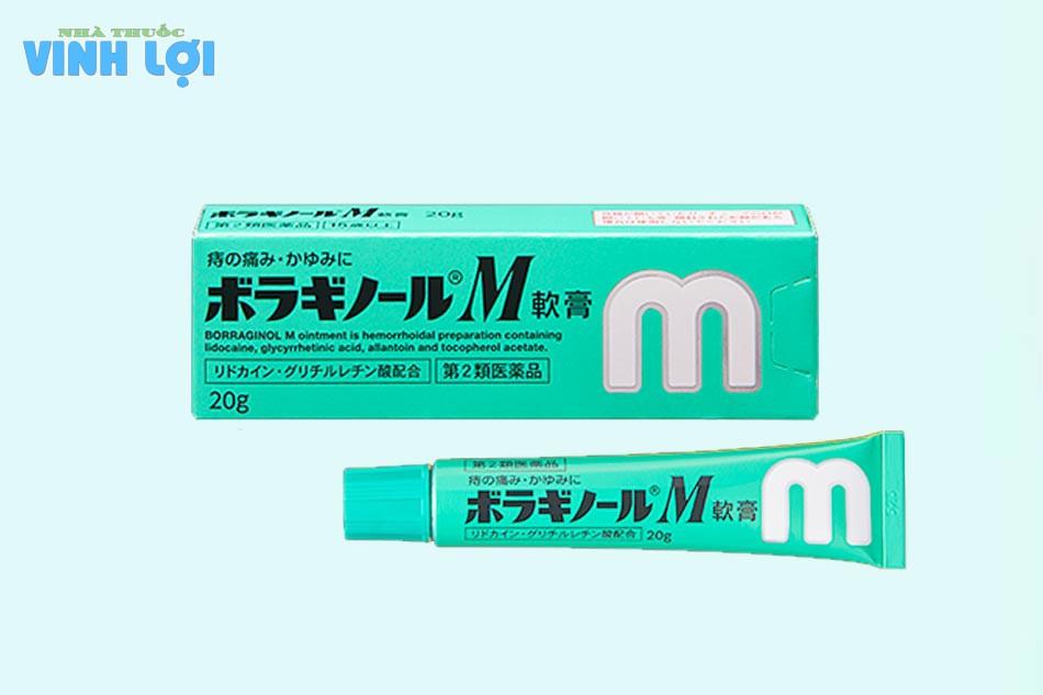 Tác dụng của kem bôi trĩ Borraginol M