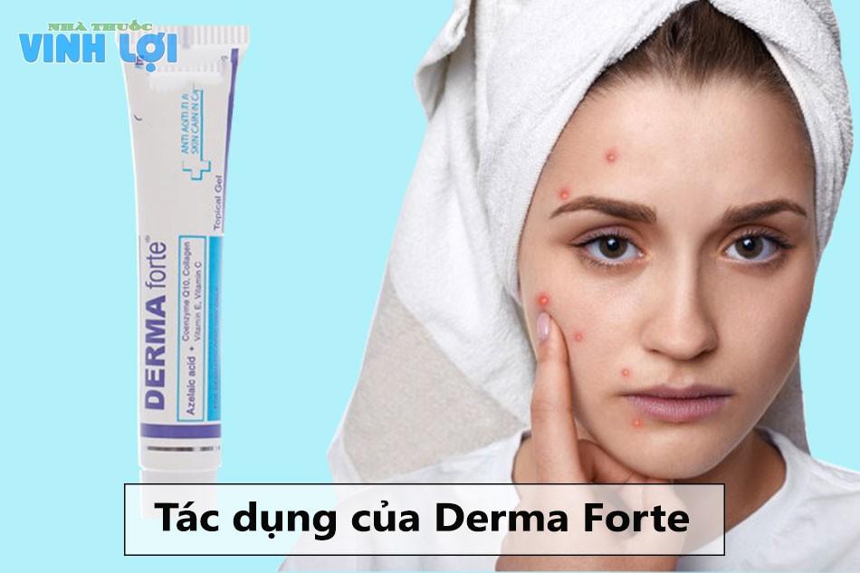 Tác dụng của Derma Forte