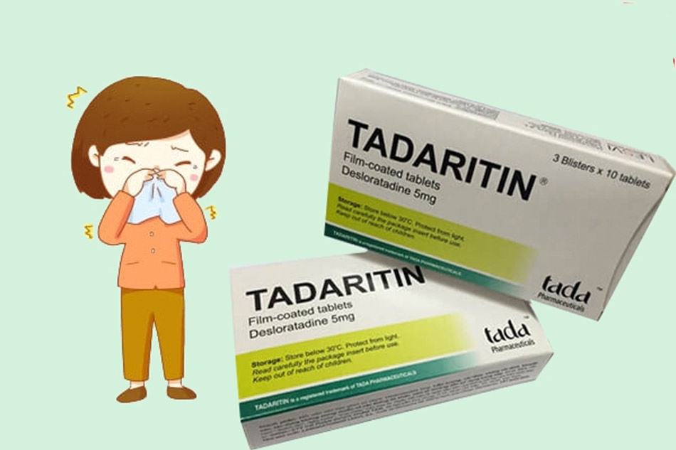 Tác dụng của thuốc Tadaritin 5mg